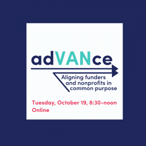 adVANce, Tuesday, October 19; 830-noon Online